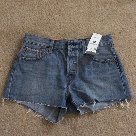 Levi's Pants - Levi's 501 shorts